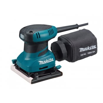 Makita BO4556 Palm Sander & Clamp 200 Watt 240 Volt