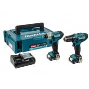 Makita CLX201AJ Twin Pack 10.8 Volt 2 x 2.0Ah Li-Ion