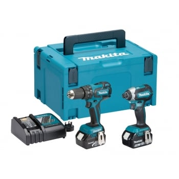 Makita DLX2173TJ Brushless Twin Pack 18 Volt 2 x 5.0Ah Li-Ion