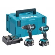 Makita DLX2180TJ Brushless Twin Pack 18 Volt 2 x 5.0Ah Li-Ion