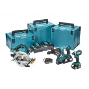 Makita DLX3049PTJ 3 Piece Kit 18 Volt 4 x 5.0Ah Li-ion
