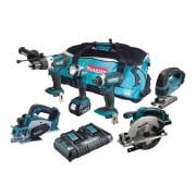 Makita DLX6067PT 6 Piece Kit 18 Volt 3 x 5.0Ah Li-Ion