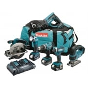 Makita DLX6068PT 6 Piece Kit 18 Volt 3 x 5.0Ah Li-Ion