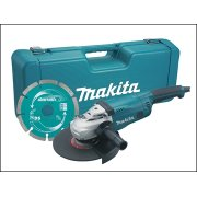 Makita GA9020KD 230mm Angle Grinder With Case & Diamond Wheel 2000 Watt 110 Volt