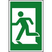 Man running left - PVC (200 x 300mm)