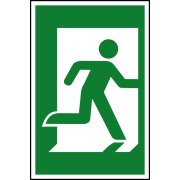 Man running right - PVC (200 x 300mm)