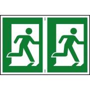 Man running right - PVC (300 x 200mm)
