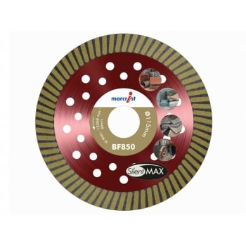 Marcrist BF850 Natural Diamond Blade Fast Precision Cut 115mm x 22.2mm