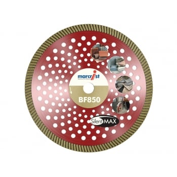Marcrist BF850 Natural Diamond Blade Fast Precision Cut 230mm x 22.2mm