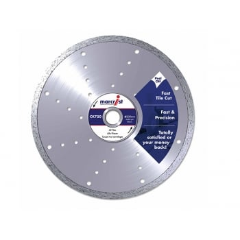 Marcrist CK750 Diamond Blade Fast Cut 200mm x 25.4mm Machine