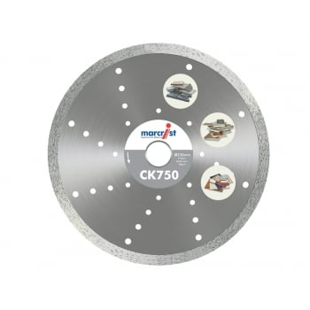 Marcrist CK750 Diamond Blade Fast Cut 230mm x 30mm Machine