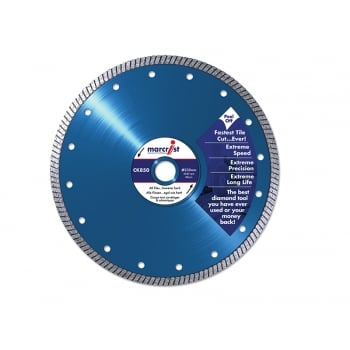 Marcrist CK850 Natural Diamond Blade Fast Cut 125 x 22.2mm