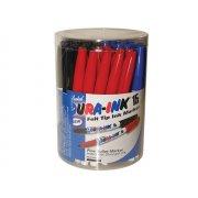 Markal Dura-Ink 15 Fine Tip Marker Tub 48