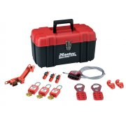 Master Lock Lockout Toolbox 12 Piece Kit- Electrical