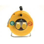 Masterplug Cable Reel 50 Metre 16A 110 Volt Thermal Cut-Out