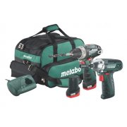 Metabo2.3 Powermaxx Combo Set 10.8 Volt 2 x 2.0Ah Li-Ion Model No- 685055000