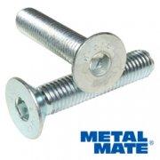 M3 X 12 A2 Skt Csk Screw DIN7991