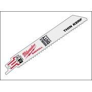 Milwaukee SAWZALL???? Metal Sabre Blade 150mm 18 TPi (5)