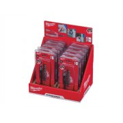 Milwaukee Set 2 Shockwave Drive Guide 12 Piece Counter Display of 10 Sets