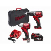 MilwaukeeM18 BLPP2B-402C Brushless Twinpack 18 Volt 2 x 4.0Ah Li-Ion Model No- 4933448460
