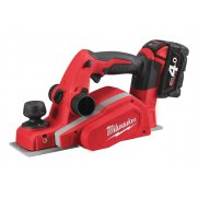 MilwaukeeM18 BP-402C Planer 18 Volt 2 x 4.0Ah Li-Ion Model No- 4933451115