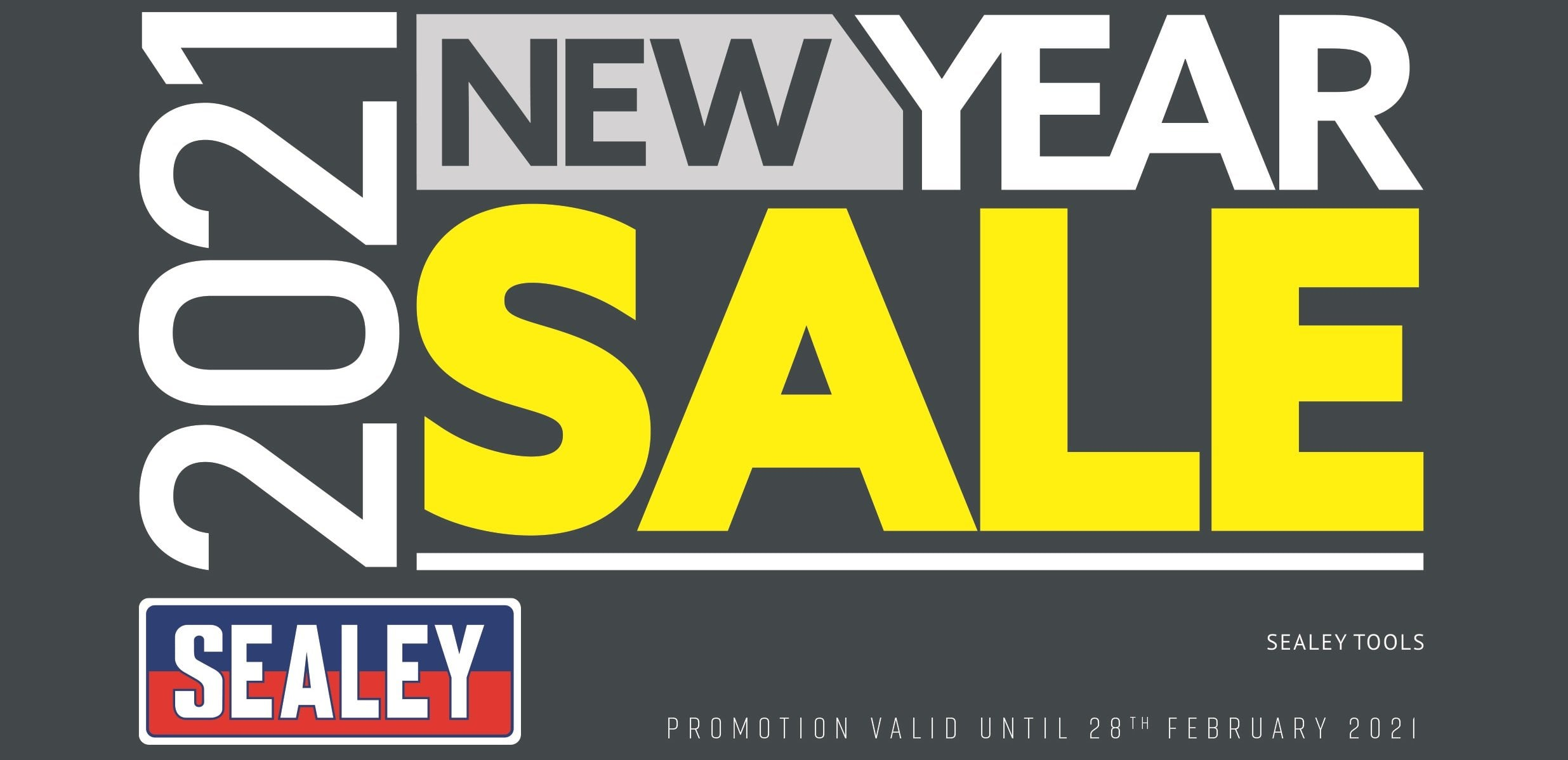 Sealey New Year Sale 2021