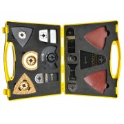 Nipper N20MAK Multi-Tool Accessory Kit Case 20 Piece