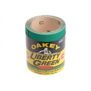 Oakey Liberty Green Roll 115mm x 10m Fine 120g