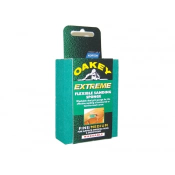 Oakey Liberty Green Sanding Block Fine/Medium (1)