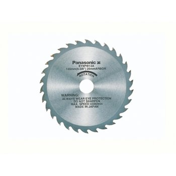 Panasonic 135mm Blade For 14.4 Volt Multi Cut Saw Wood 32 Teeth