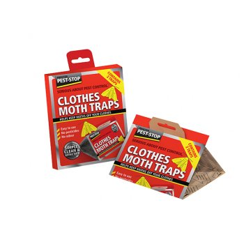 Pest-Stop Systems Clothes Moth Trap (Pack of 2)