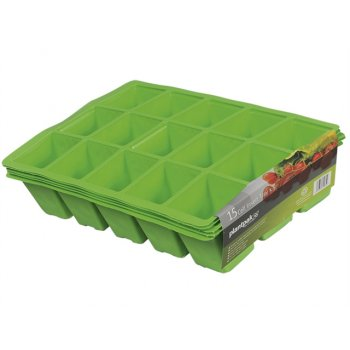 Plantpak Seed Tray Inserts 15 Cell (22 x Packs of 5)