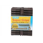 Plasplugs BP 539 Solid Wall Supergrip Fix Brown (300)