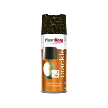 Plasti-kote Crackle Touch Spray Black 400ml