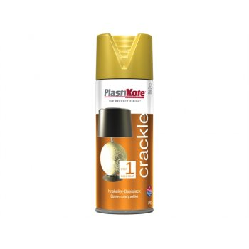 Plasti-kote Crackle Touch Spray Gold Base Coat 400ml