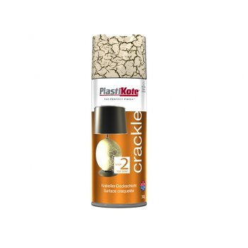 Plasti-kote Crackle Touch Spray Heritage Gold 400ml