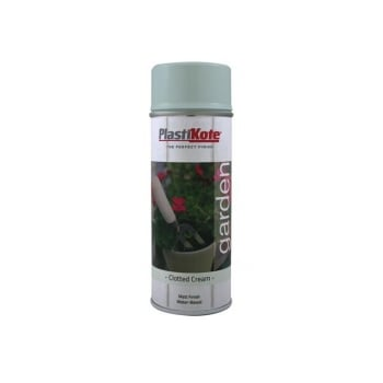 Plasti-kote Garden Colours Spray Paint Clotted Cream 400ml