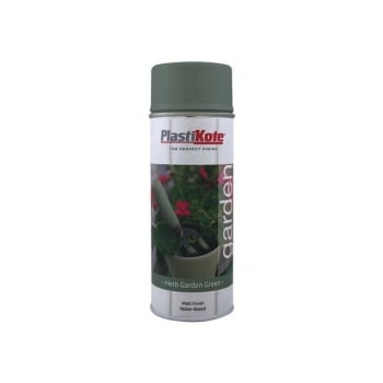 Plasti-kote Garden Colours Spray Paint Herb Garden Green 400ml
