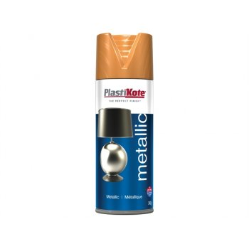 Plasti-kote Metallic Spray Bronze 400ml