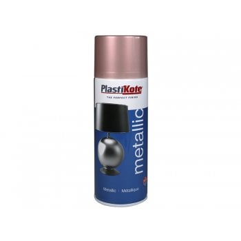 Plasti-kote Metallic Spray Rose Gold 400ml