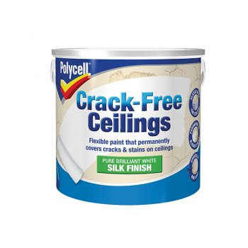 Polycell Crack-Free Ceilings Smooth Silk 2.5 Litre