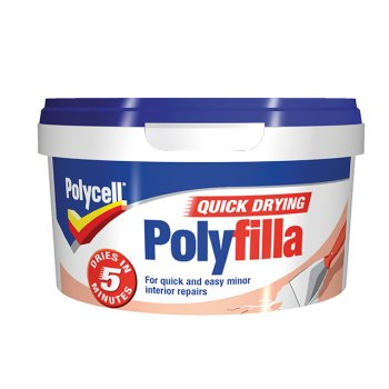Polycell Multi Purpose Quick Drying Polyfilla Tub 500g
