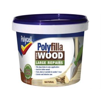 Polycell Polyfilla 2 Part Wood Filler Natural 750g
