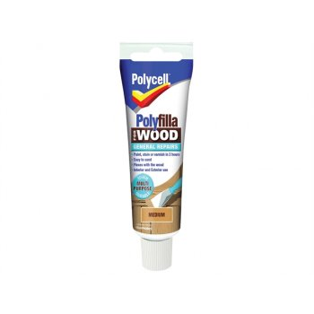 Polycell Polyfilla For Wood General Repairs Tube Medium 330g