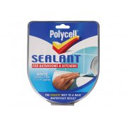 Polycell Sealant Strip Kitchen/Bathroom White 22mm