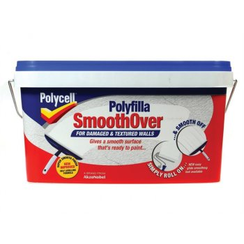 Polycell SmoothOver Damaged / Textured Walls 5 Litre