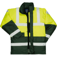 Contrast Traffic Jacket - Style PW- S466