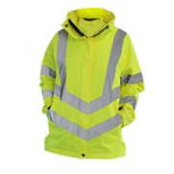 Ladies HiVis Breathable Jacket - Style PW- LW70