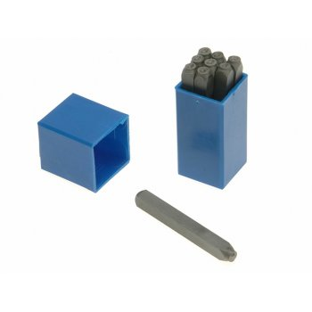 Priory 180- 5.0mm Set of Number Punches 3/16in