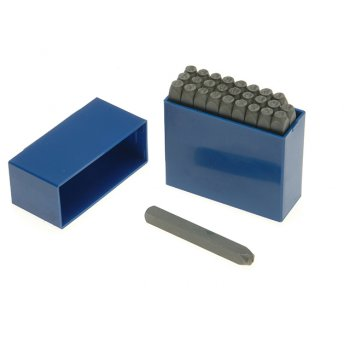 Priory 181- 3.0mm Set of Letter Punches 1/8in
